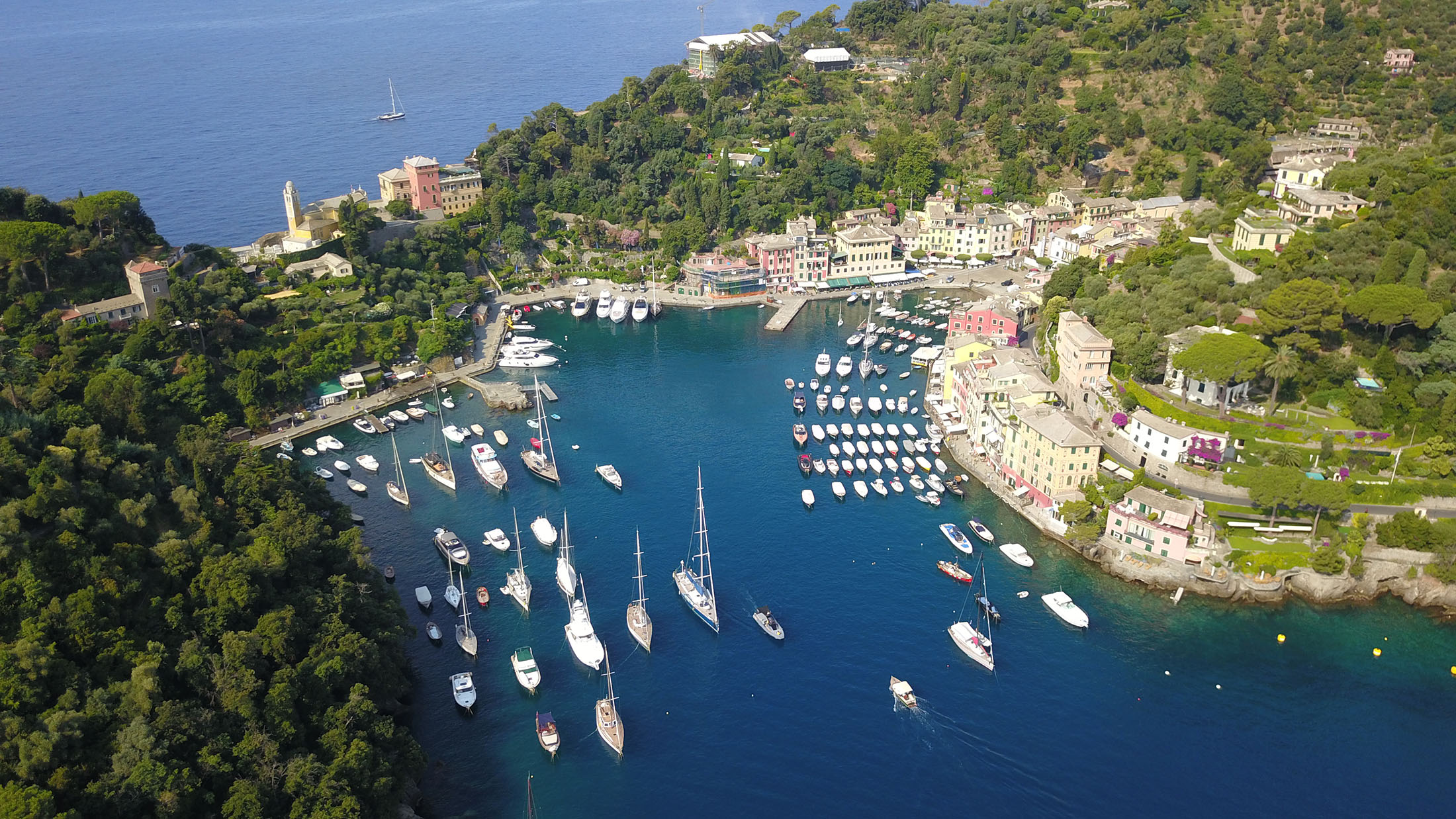 Cesare Charter Portofino - Portofino Wharf