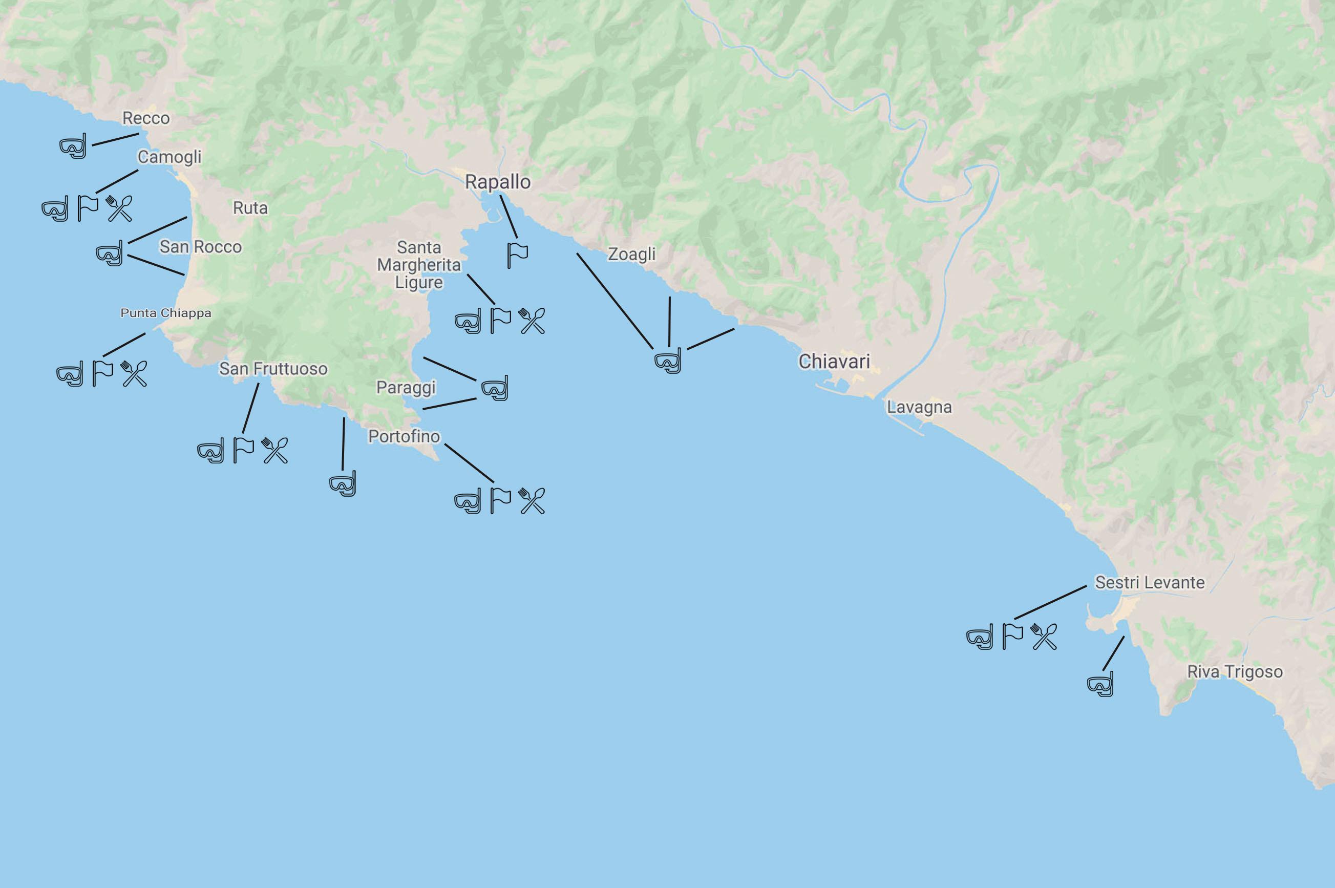 Cesare Charter Portofino - Tour Due Golfi