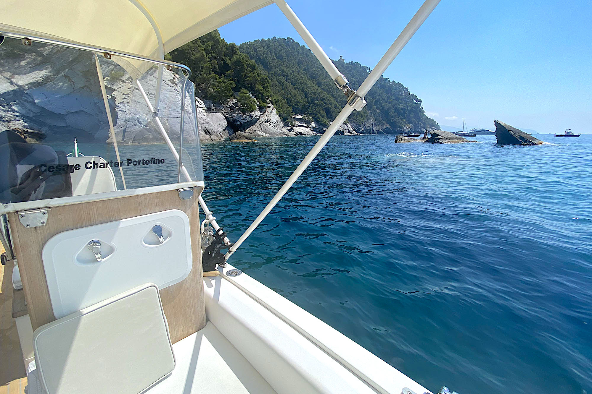 Cesare Charter Portofino - Tour Two Gulfs, swim and snorkeling