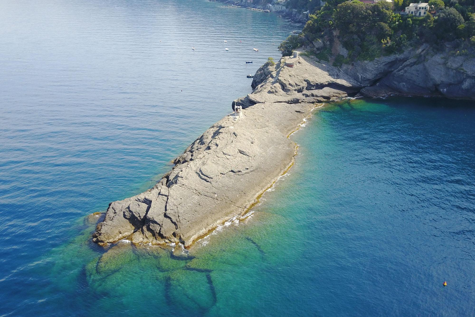 Cesare Charter Portofino - Tour Due Golfi, punta chiappa