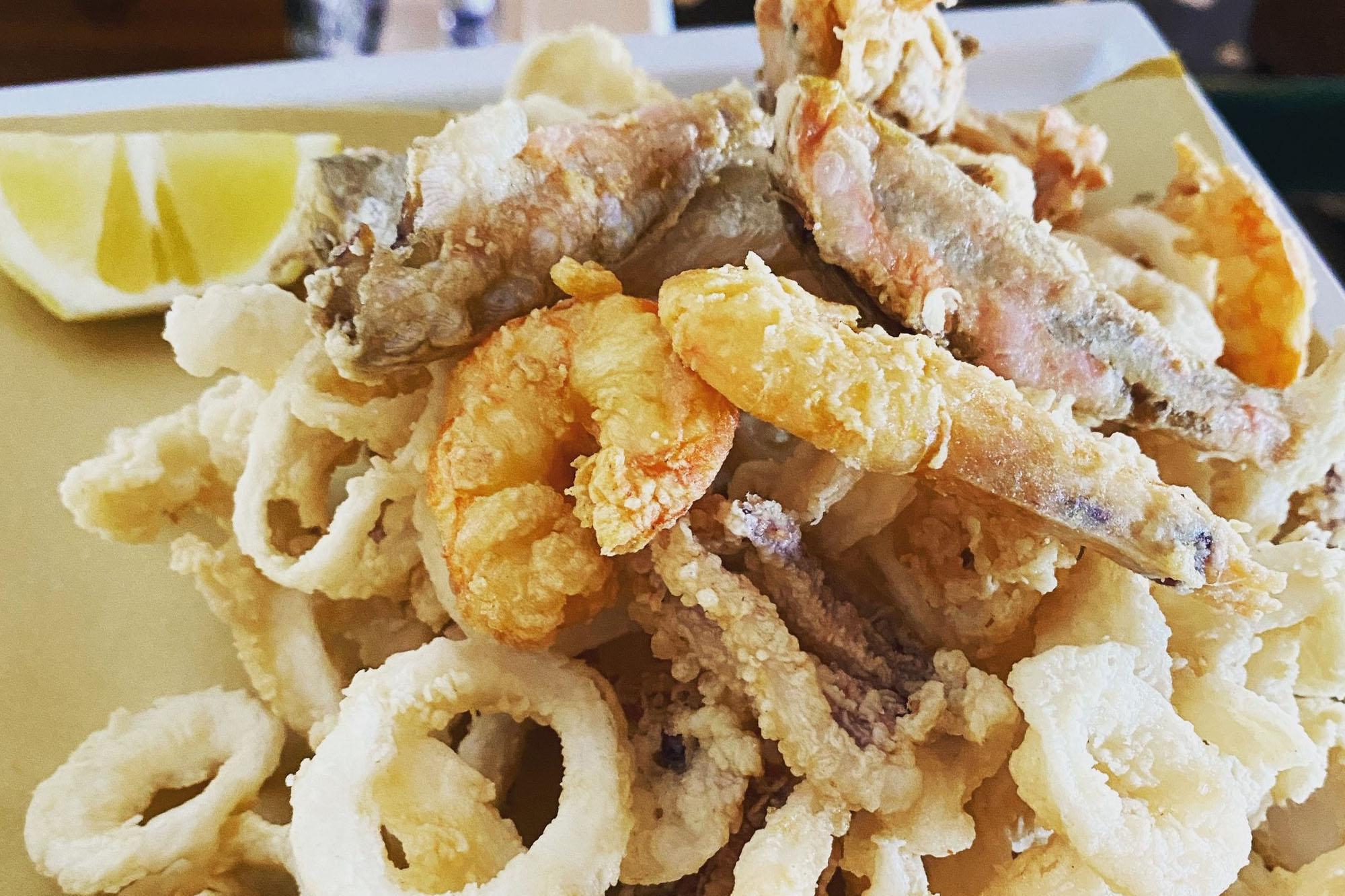 Cesare Charter Portofino - Tour Porto Venere and Palmaria Island, local cuisine