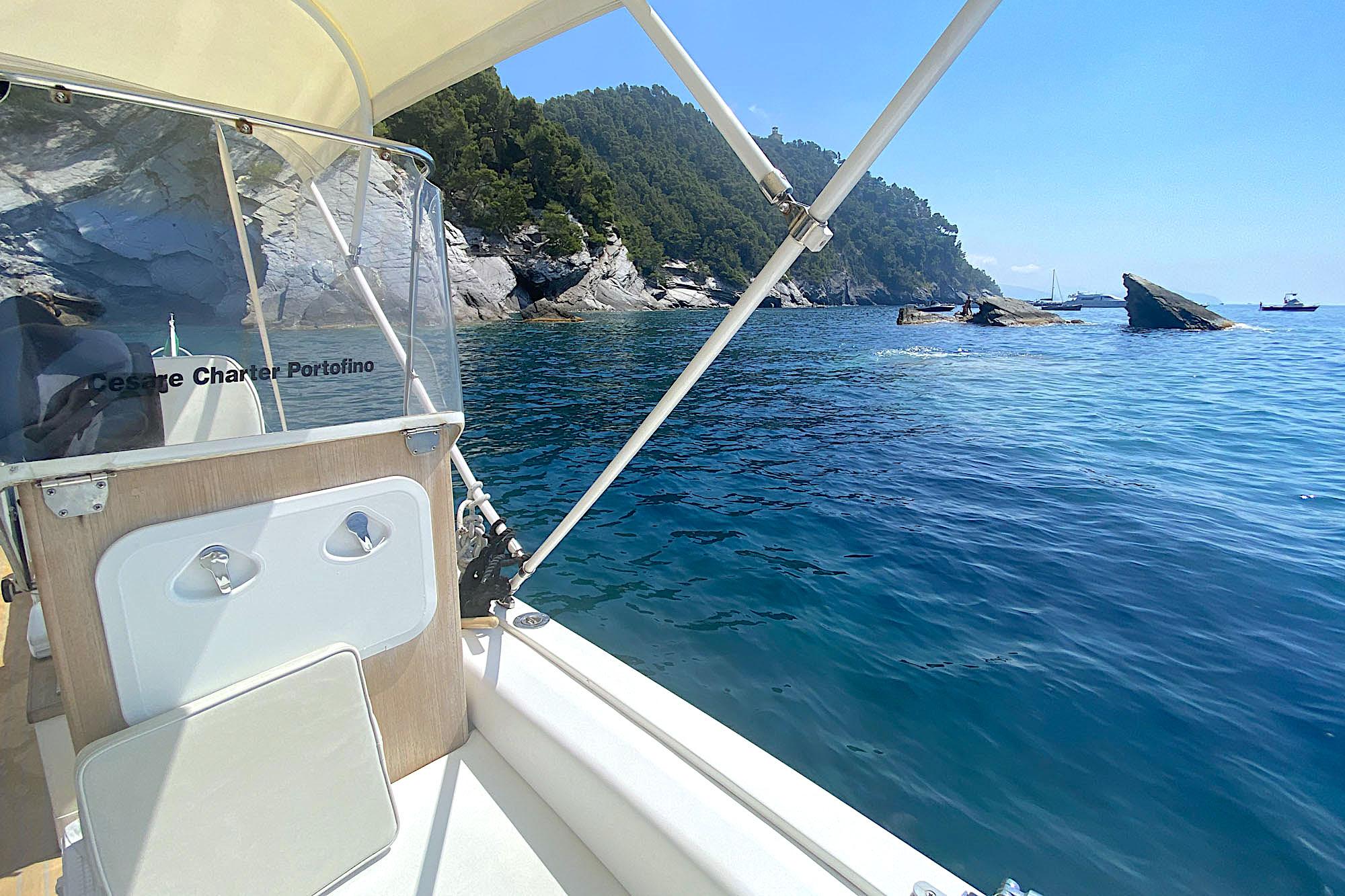 Cesare Charter Portofino - Tour Porto Venere and Palmaria Island,swim and snorkeling