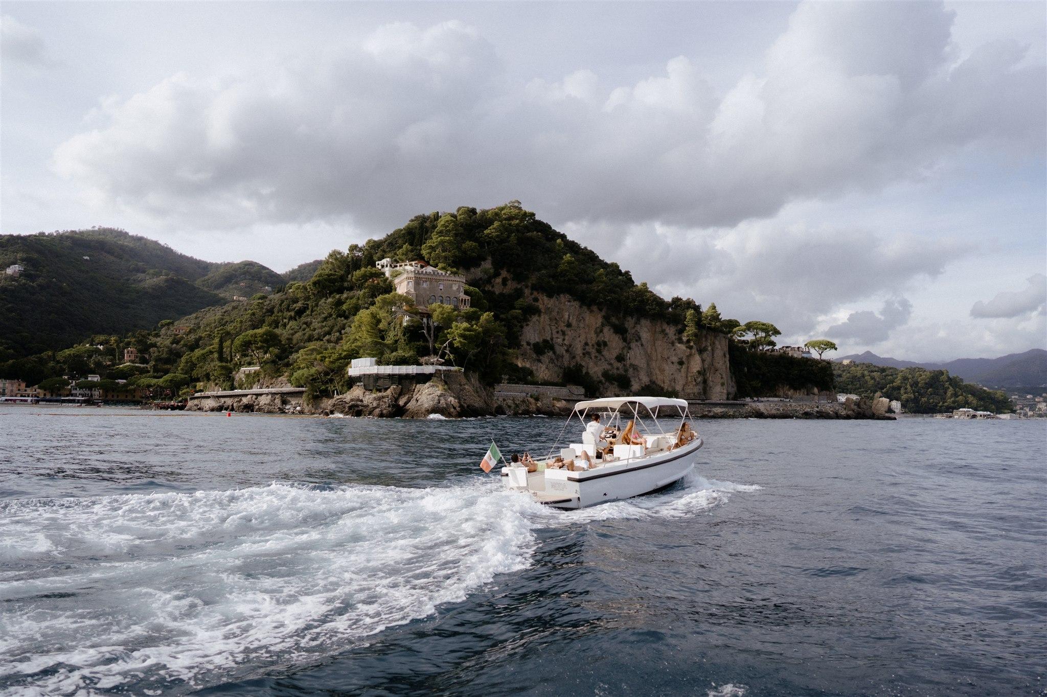 Cesare Charter Portofino - imbarcazione per tour, charter e transfer marittimi