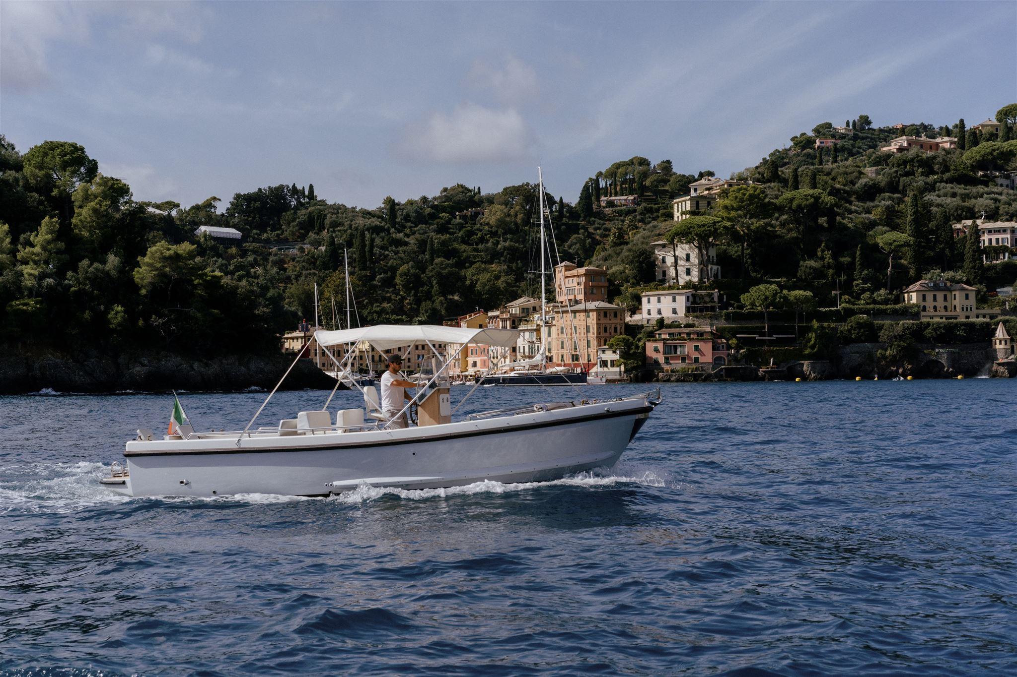 Cesare Charter Portofino - boat for maritime tour, charter and transfer