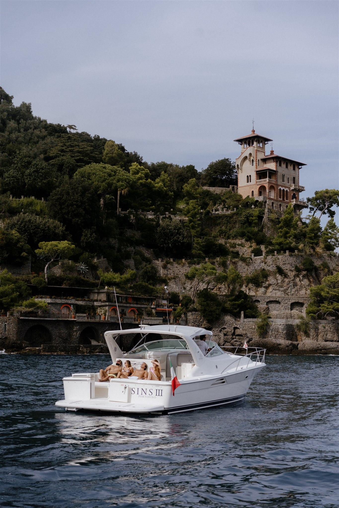 Cesare Charter Portofino - Servizi tour, charter e transfer marittimi