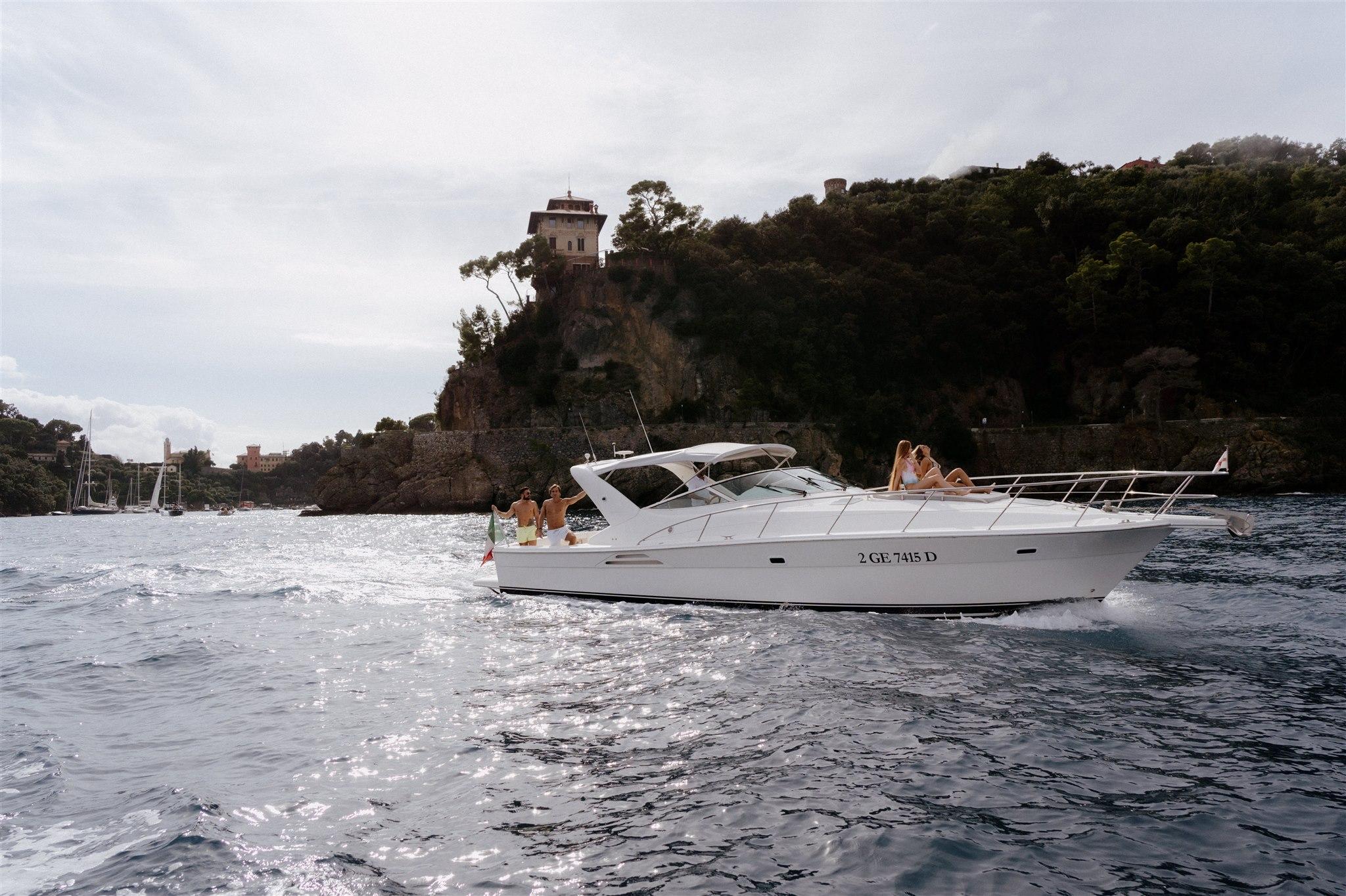 Cesare Charter Portofino - imbarcazione per maritime, charter e transfer marittimi
